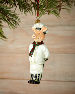 Monsieur Jambon Christmas Ornament