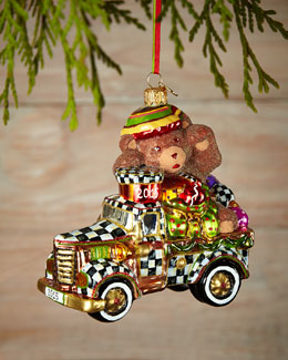 Truck Full of Treats Christmas Ornament