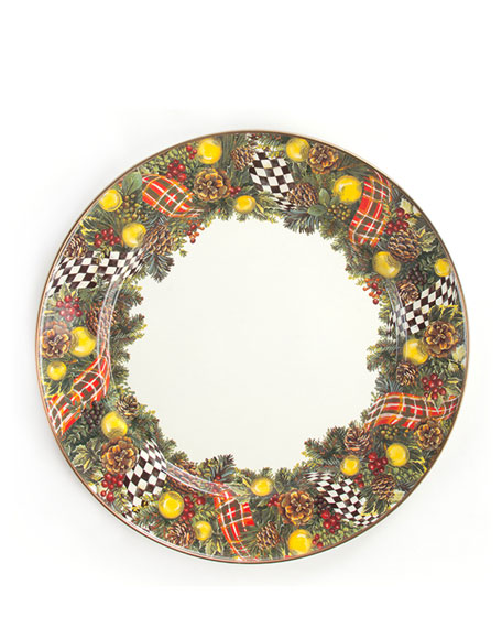 Evergreen Charger Plate