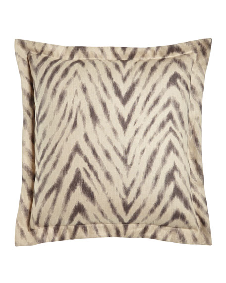 Animal Stripe European Sham