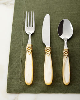 20-Piece Gioiello Gold Flatware Service