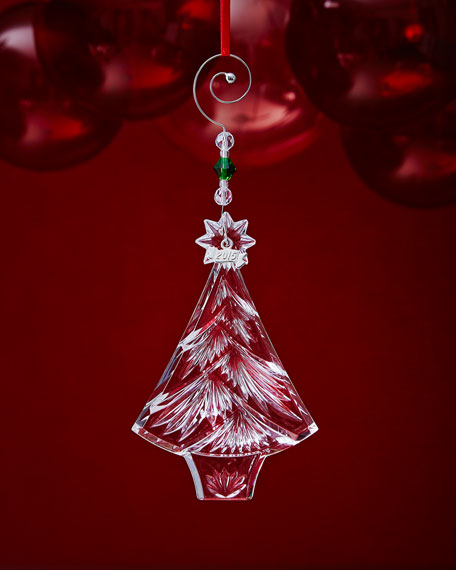 Waterford Christmas Ornaments.Christmas Tree Christmas Ornament