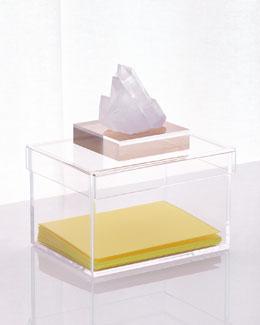 Natural Quartz Medium Storage Box