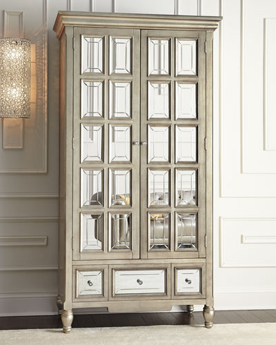 Brielle Mirrored Cabinet