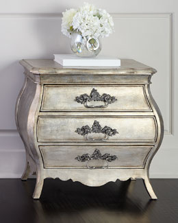 Hadleigh Three-Drawer Nightstand