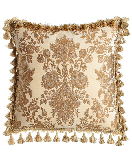 European Bellissima Sham with Tassel Trim