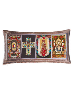 Patio Multicolore Pillow