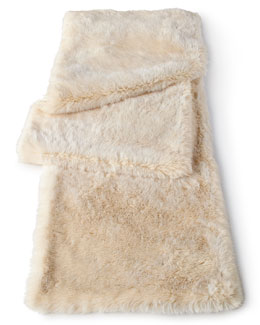 Faux-Mink Table Runner
