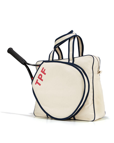 Tennis Bag - Steamer Initial