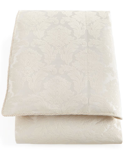 King Capello Damask Duvet Cover