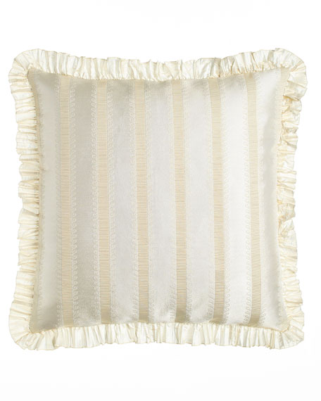 Dian Austin Couture Home European Capello Striped Sham