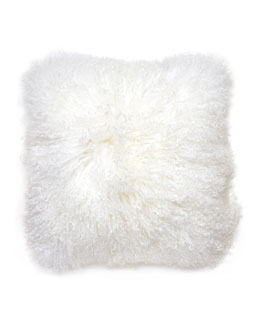 Mongolian Lamb Pillow