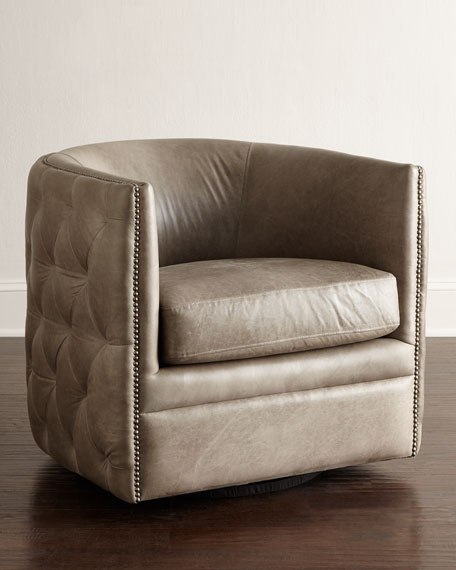 Amazing Abriola Leather Swivel Chair Beatyapartments Chair Design Images Beatyapartmentscom