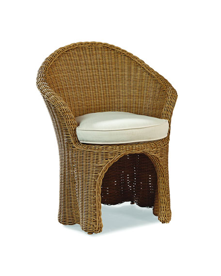 Lane Venture Crespi Wave Barrel Chair