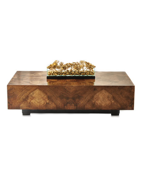JohnRichard Collection Chelsea WalnutCurl Coffee Table - John richard coffee table