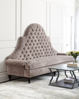 Regency Tufted Sofa