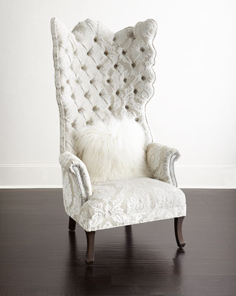 Cora Tufted Wing Chair