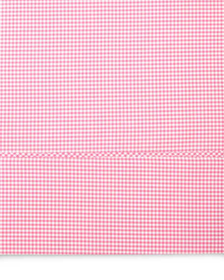 Full Gingham Fitted Sheet