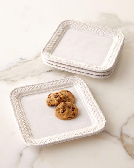 Le Panier Dessert Plates, Set of 4