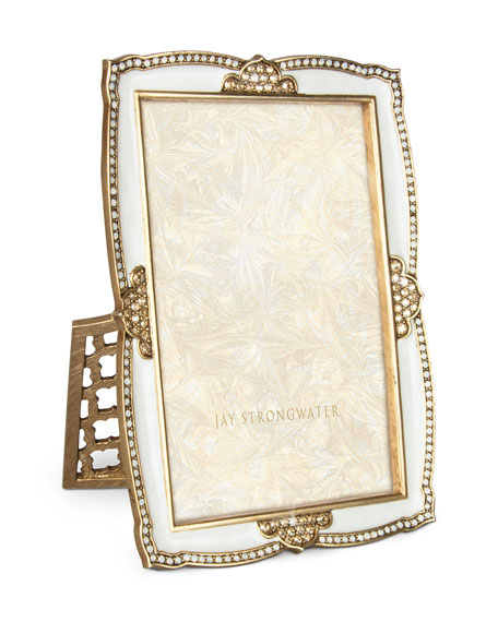 """Scalloped 4"""" x 6"""" Picture Frame"""