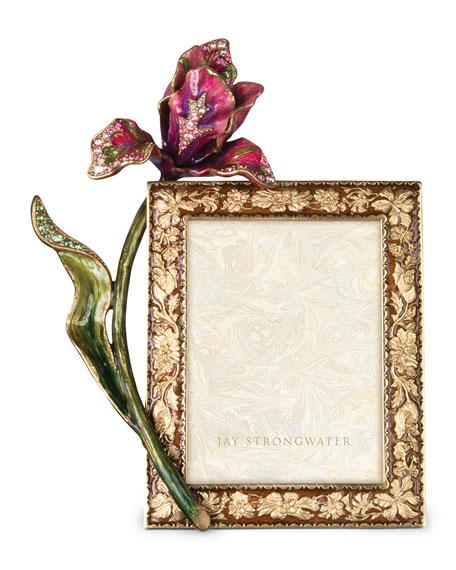 """Brocade Floral 3"""" x 4"""" Frame"""