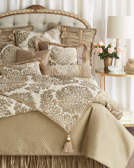 Queen Vienna Quilted Coverlet