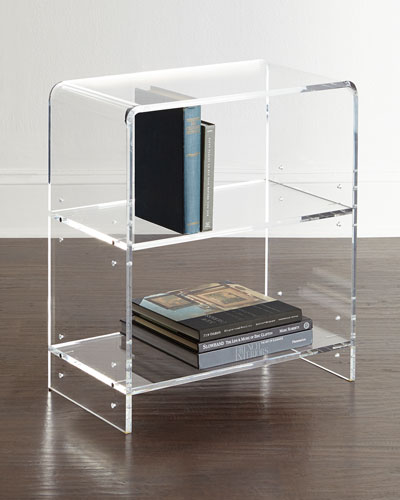 Everly Acrylic Bookcase