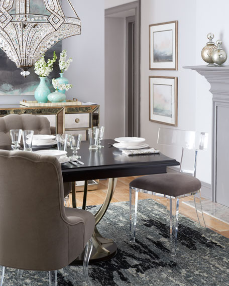 Lambert Double-Pedestal Table