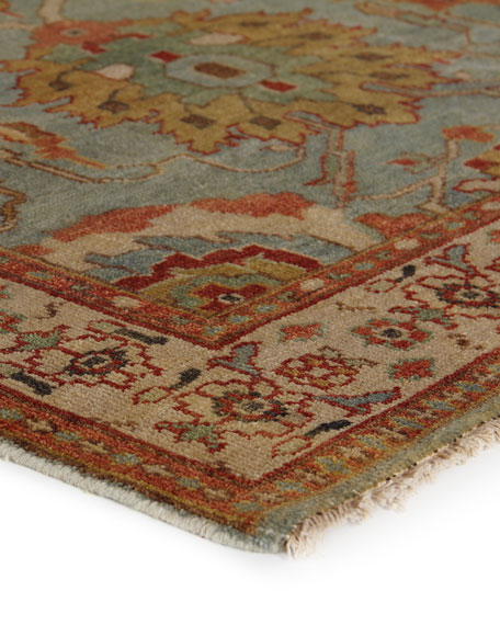 Oasis Antique Weave Knotted Rug, 6' x 9'