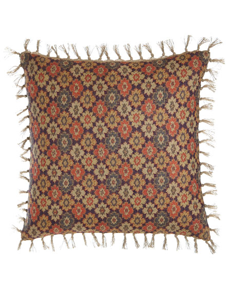 "Anatolia Print Pillow, 20""Sq."