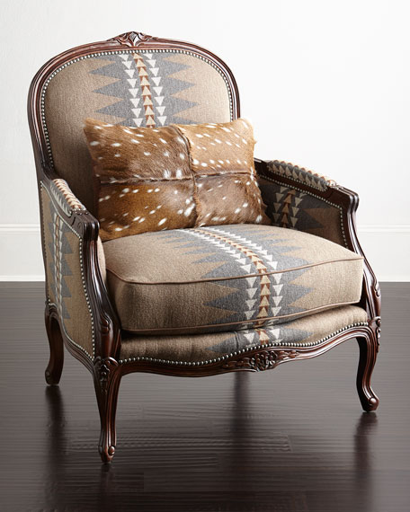 Massoud Mrs. Wasserman Bergere Chair