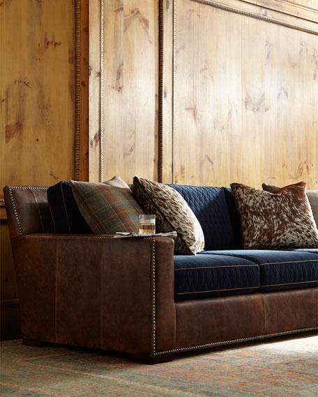 "Darlene Leather Sofa 101"""