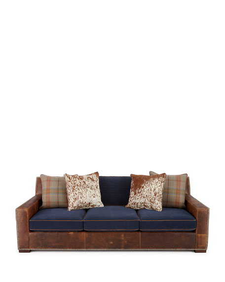 Darlene Leather Sofa