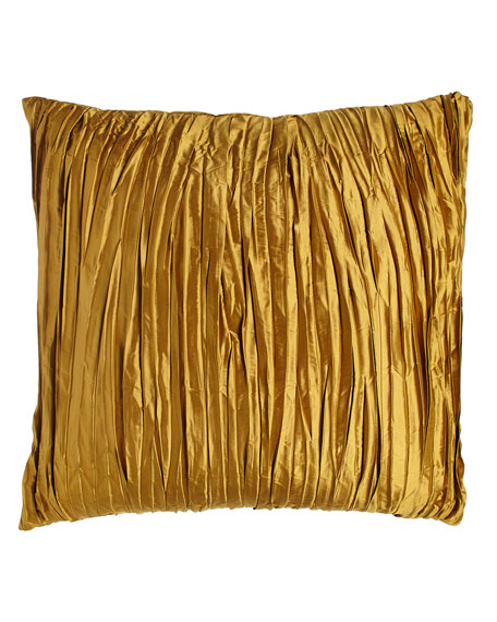 Royale Reversible Gold Silk European Sham