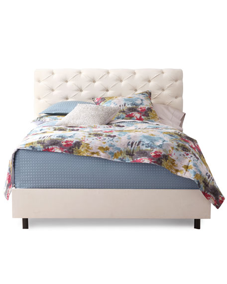Valentine Tufted California King Bed