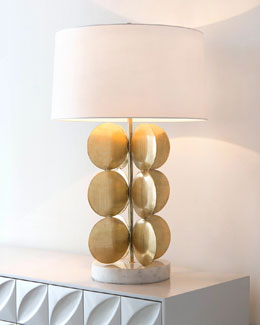 Around in Circles Table Lamp