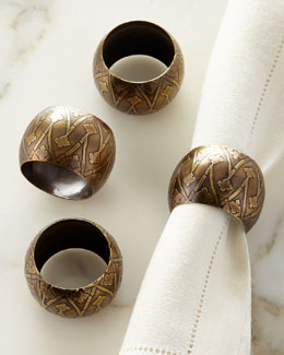 Namir Napkin Rings, Set of 4