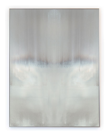 """Haze Reflected"" Vertical Signed, Embellished Giclee"