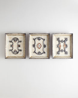Velador Wall Plaques, 3-Piece Set