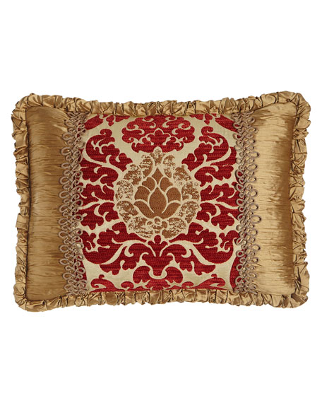 Austin Horn Collection Arabesque Pieced Pillow, 14