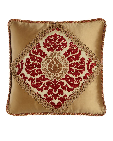 Austin Horn Collection Arabesque Pillow, 20