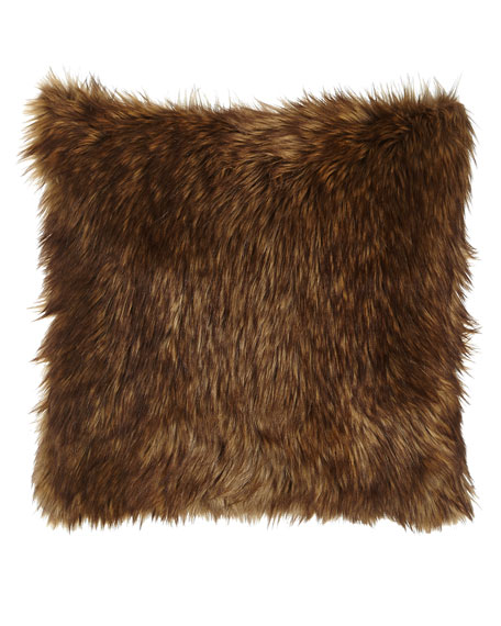 Lawrence Faux-Fur Pillow