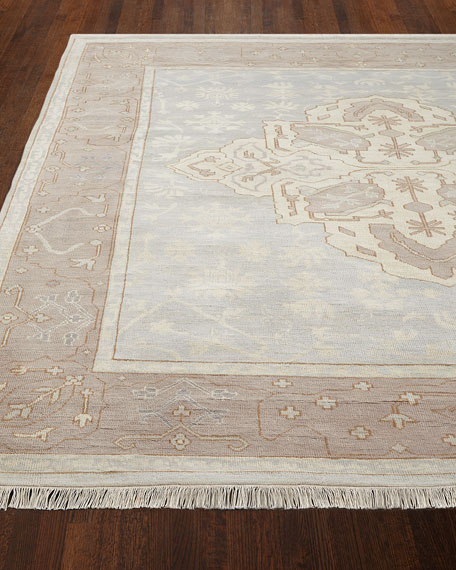 Lady Blue Oushak Rug, 10' x 14'