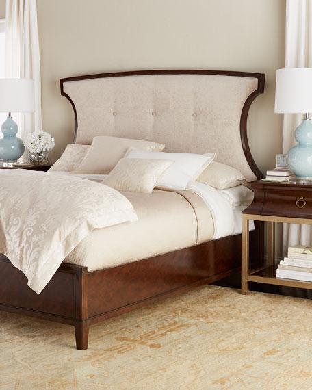 Bernadino California King Tufted Bed