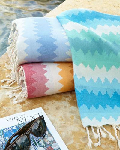 Fouta Jacquard Beach Towel, 38