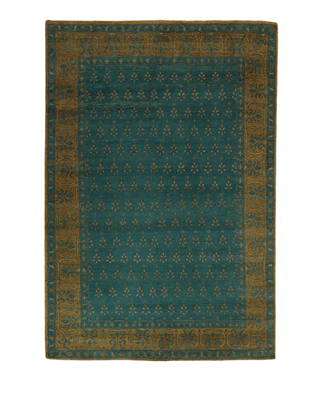 Essex Emerald Rug, 8' x 11'