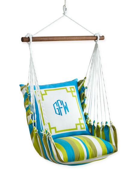Monogrammed Chair Swing