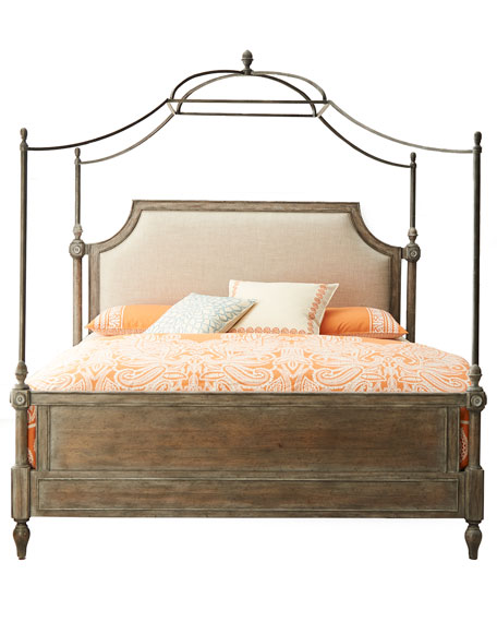 Cortina King Canopy BedHooker Furniture Cortina Bedroom Furniture. Cortina Bedroom Set. Home Design Ideas
