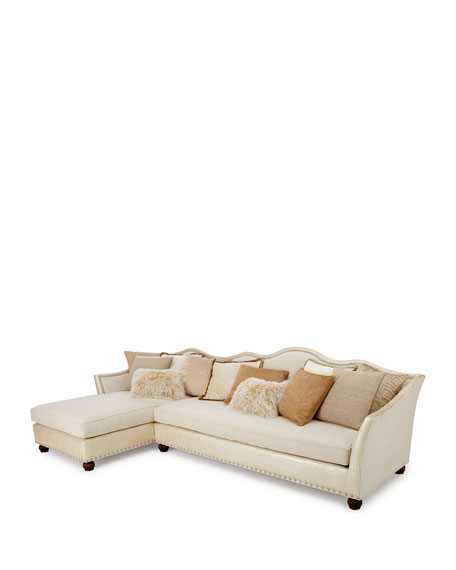 Regina Right-Chaise Sectional  sc 1 st  Horchow : right chaise sectional - Sectionals, Sofas & Couches