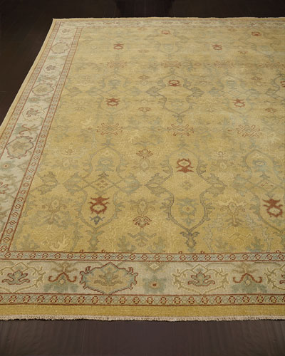 Raja Golden Rug  6' x 9'